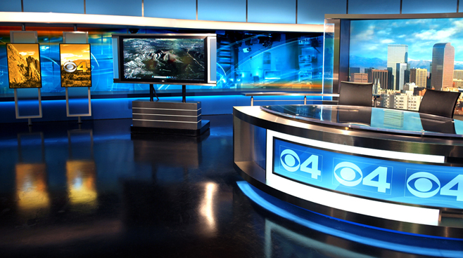 KCNC  - Denver, CO - News Sets Set Design - 3