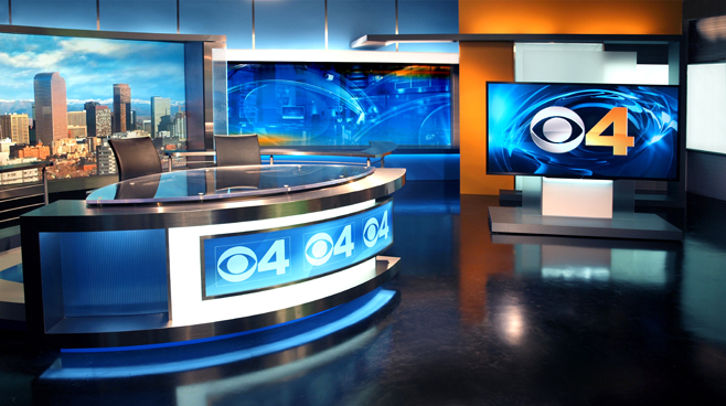 KCNC  - Denver, CO - News Sets Set Design - 2