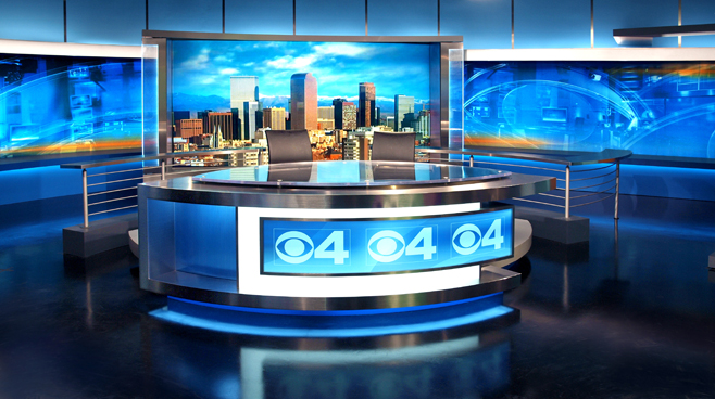 KCNC  - Denver, CO - News Sets Set Design - 1