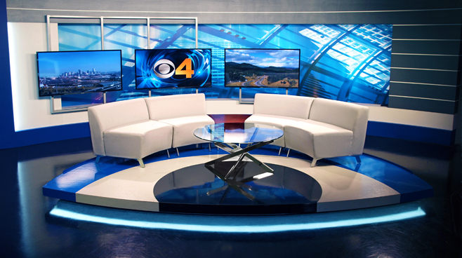 KCNC  - Denver, CO - News Sets Set Design - 4