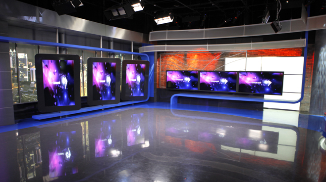 NET. - JAKARTA - News Sets Set Design - 2