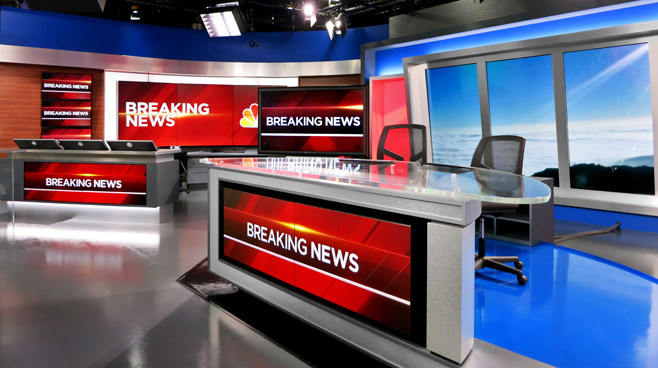 KNBC - LOS ANGELES, CA - News Sets Set Design - 5