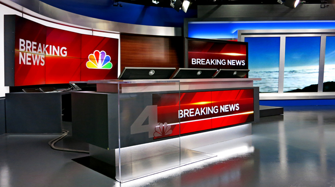 KNBC - LOS ANGELES, CA - News Sets Set Design - 7