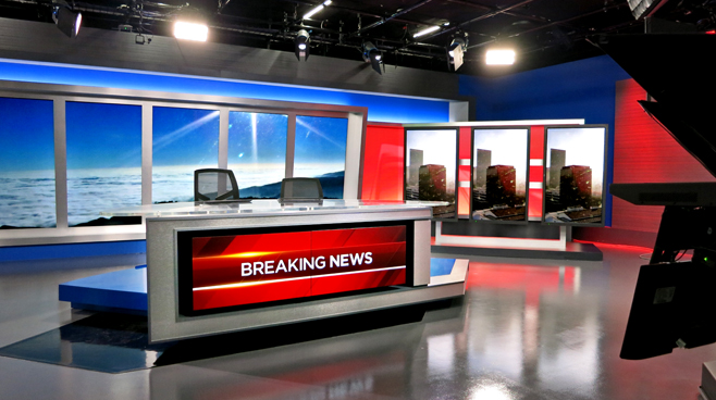 KNBC - LOS ANGELES, CA - News Sets Set Design - 3