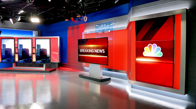 KNBC - LOS ANGELES, CA - News Sets Set Design - 9