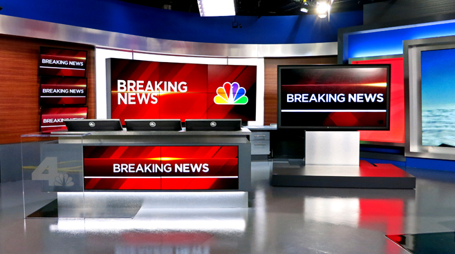 KNBC - LOS ANGELES, CA - News Sets Set Design - 11