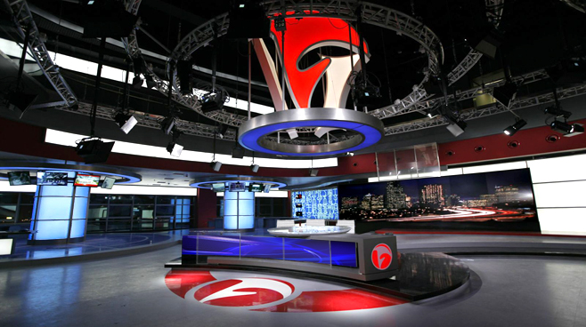 ANHUI TELEVISION - ANHUI - News Sets Set Design - 1