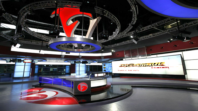 ANHUI TELEVISION - ANHUI - News Sets Set Design - 3
