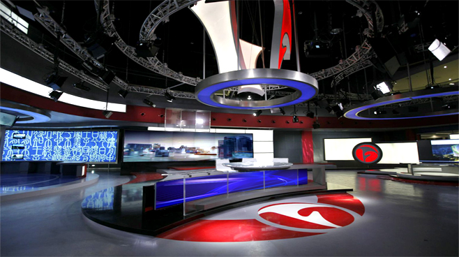 ANHUI TELEVISION - ANHUI - News Sets Set Design - 5