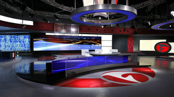 ANHUI TELEVISION - ANHUI - News Sets Set Design - 6
