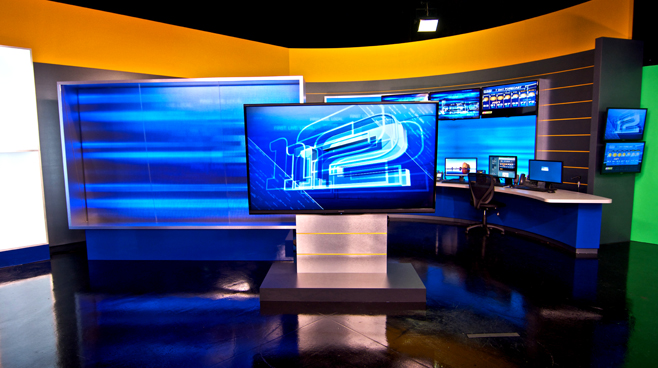 KPTV - PORTLAND, OR - News Sets Set Design - 6