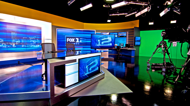 KPTV - PORTLAND, OR - News Sets Set Design - 9
