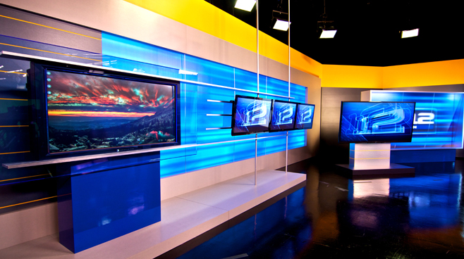 KPTV - PORTLAND, OR - News Sets Set Design - 5