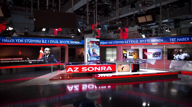 TRT - ANKARA - News Sets Set Design - 4