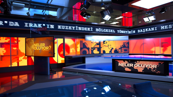 TRT - ANKARA - News Sets Set Design - 5