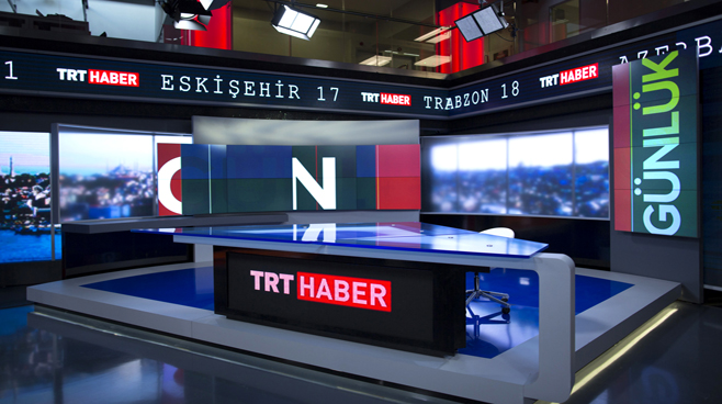 TRT - ANKARA - News Sets Set Design - 6