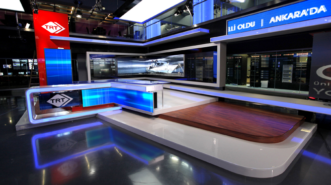 TRT - ANKARA - News Sets Set Design - 7