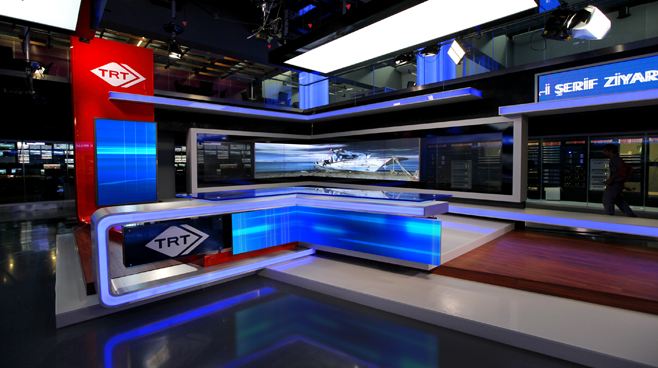 TRT - ANKARA - News Sets Set Design - 8