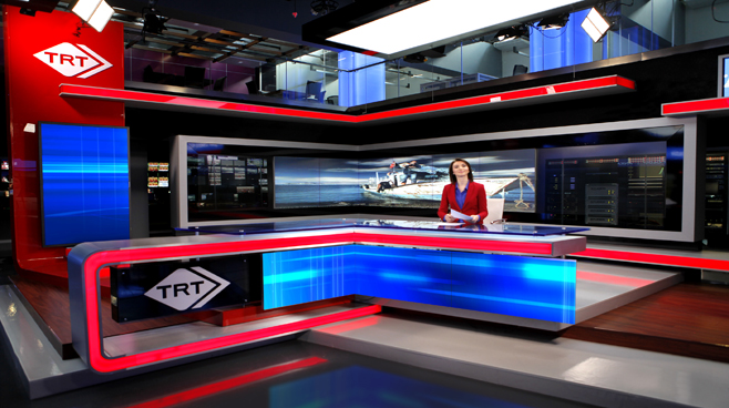 TRT - ANKARA - News Sets Set Design - 9