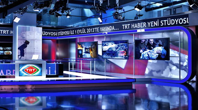 TRT - ANKARA - News Sets Set Design - 10
