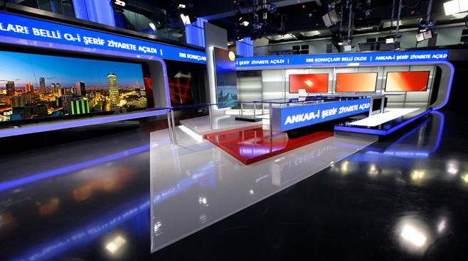 TRT - ANKARA - News Sets Set Design - 12