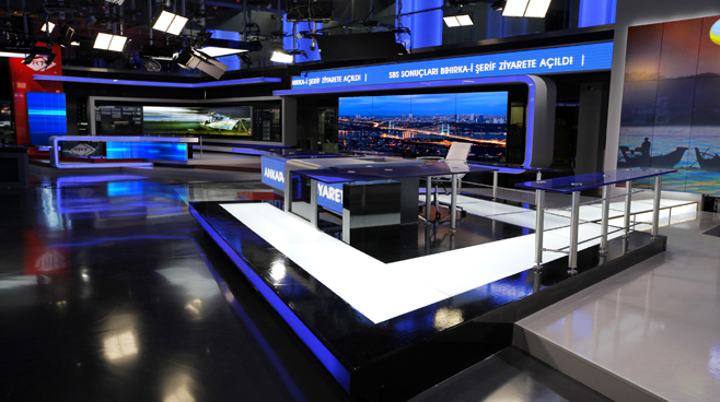 TRT - ANKARA - News Sets Set Design - 13