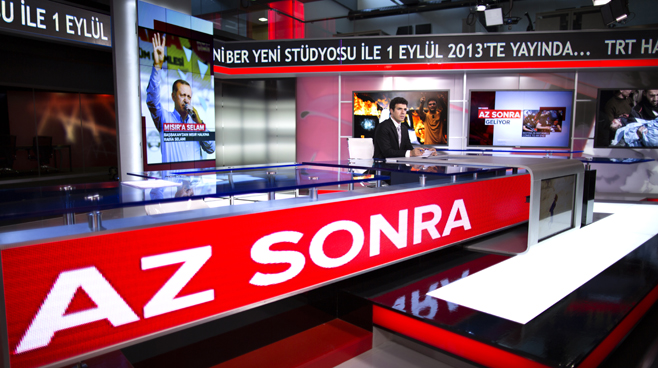 TRT - ANKARA - News Sets Set Design - 14