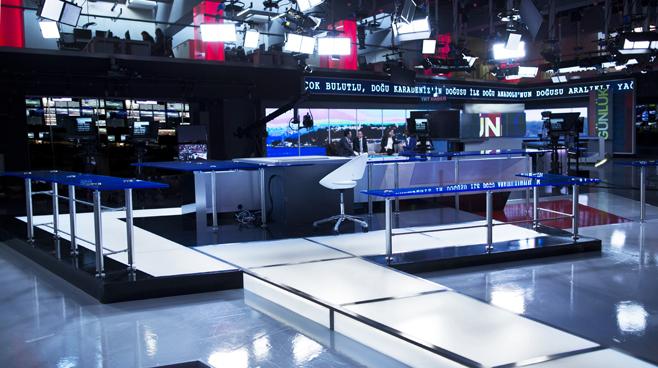 TRT - ANKARA - News Sets Set Design - 16