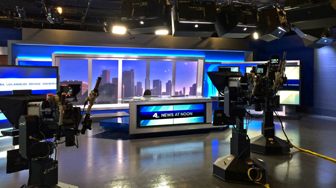 KNBC - LOS ANGELES, CA - News Sets Set Design - 2