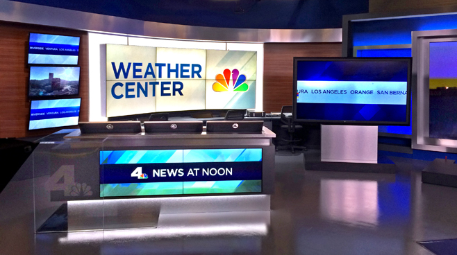 KNBC - LOS ANGELES, CA - News Sets Set Design - 10