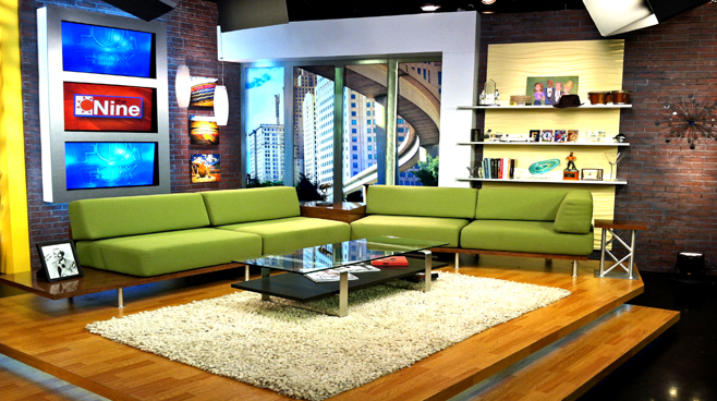 WJBK - DETROIT, MI - Talk Shows Set Design - 2