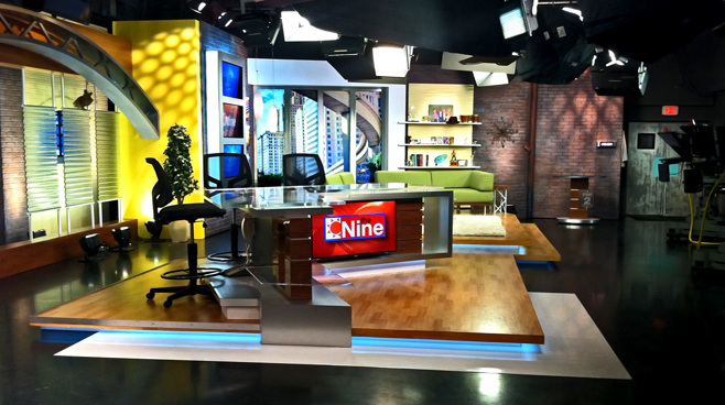 WJBK - DETROIT, MI - Talk Shows Set Design - 4