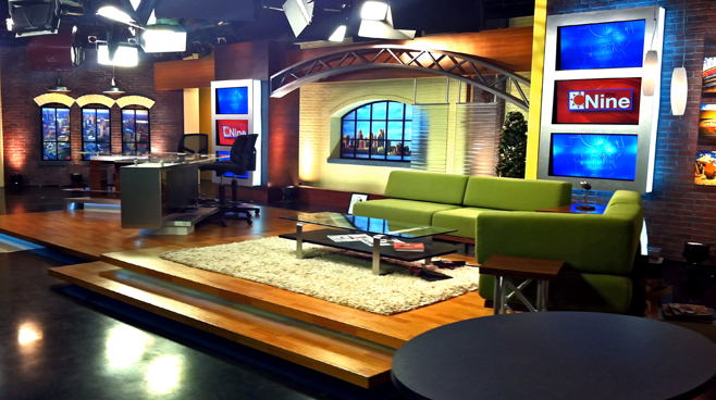 WJBK - DETROIT, MI - Talk Shows Set Design - 3