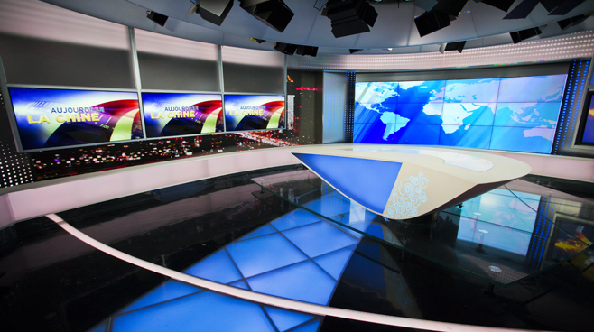 CCTV - BEIJING - News Sets Set Design - 6