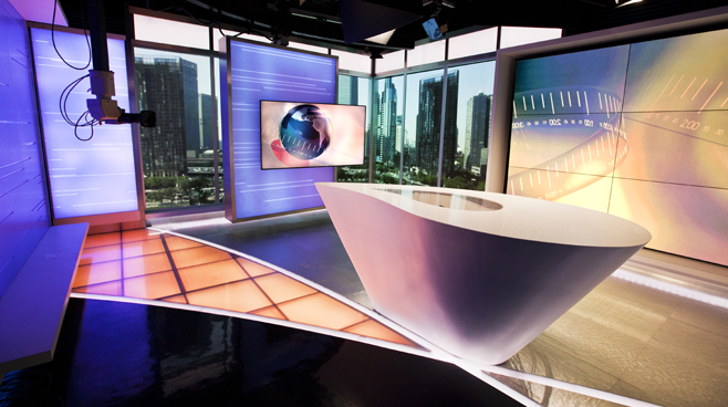 CCTV - BEIJING - News Sets Set Design - 1