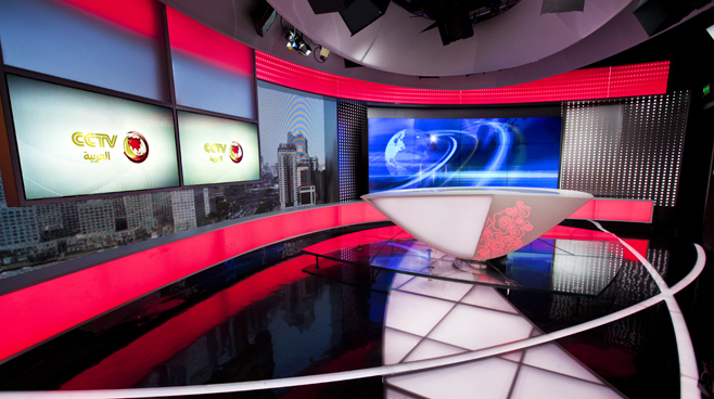 CCTV - BEIJING - News Sets Set Design - 3