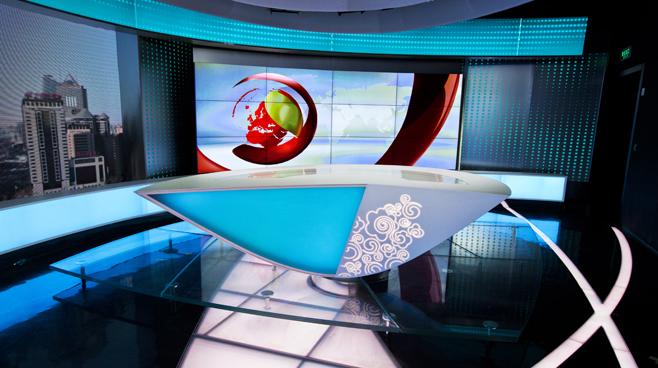 CCTV - BEIJING - News Sets Set Design - 1