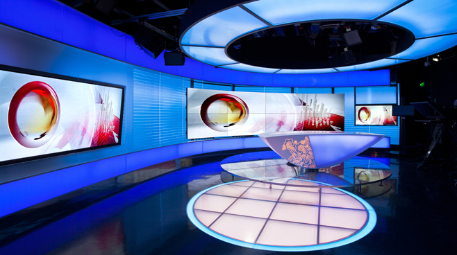 CCTV - BEIJING - News Sets Set Design - 2