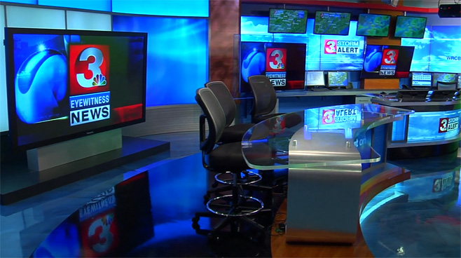 WRCB - CHATTANOOGA, TENNESSEE - News Sets Set Design - 4