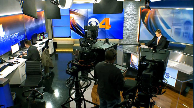 WTTV - INDIANAPOLIS, INDIANA - News Sets Set Design - 8