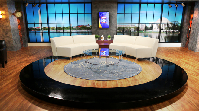WTTG-Good Day DC - Washington DC - Talk Shows Set Design - 1