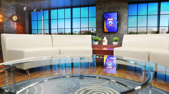 WTTG-Good Day DC - Washington DC - Talk Shows Set Design - 2