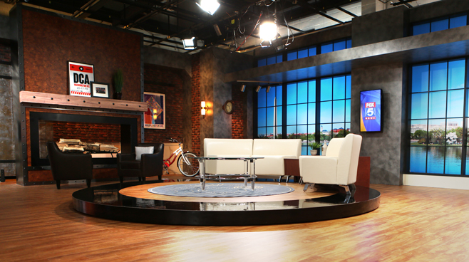 WTTG-Good Day DC - Washington DC - Talk Shows Set Design - 7