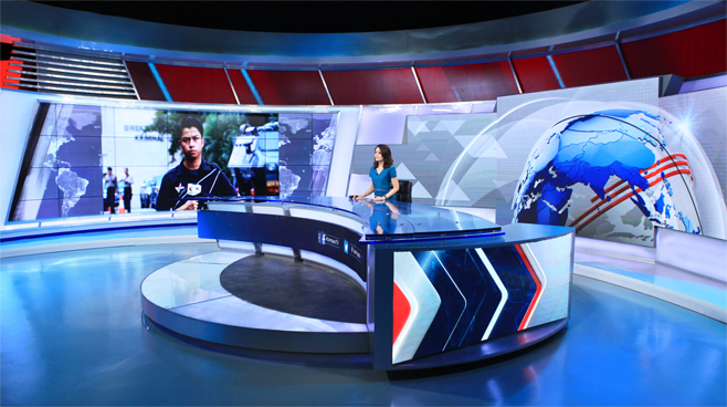 Kompas TV -  - News Sets Set Design - 2
