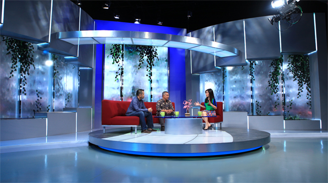 Kompas TV -  - News Sets Set Design - 8