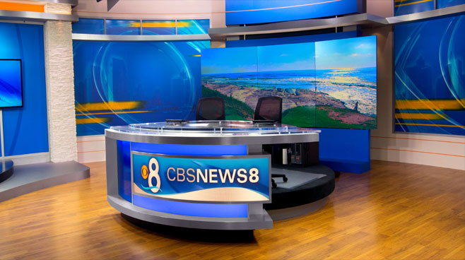 KFMB - San Diego, CA - News Sets Set Design - 3