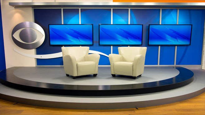 KFMB - San Diego, CA - News Sets Set Design - 6