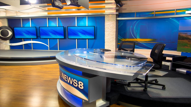 KFMB - San Diego, CA - News Sets Set Design - 4