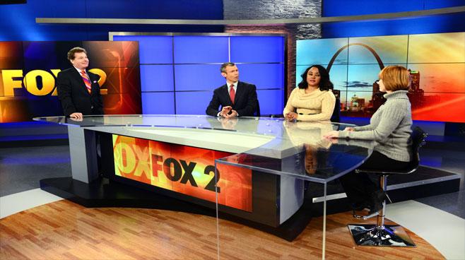 KTVI - St. Louis, MO - News Sets Set Design - 1