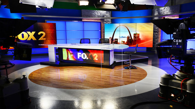 KTVI - St. Louis, MO - News Sets Set Design - 2